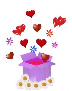 caixa de amor