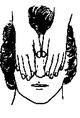 Posição 1 da cabeça